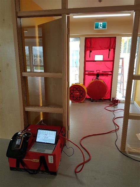 Passive House Air Tightness Testing - BC Building Science