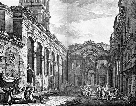 File:Peristyle of Diocletian's Palace in Split, Robert