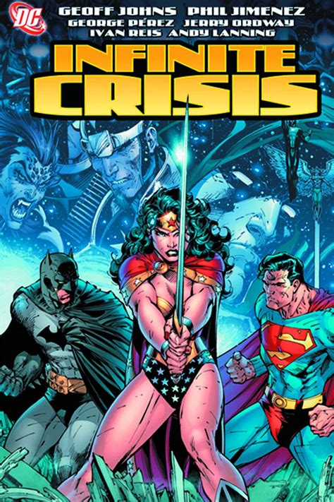 Countdown to Justice League - Infinite Crisis