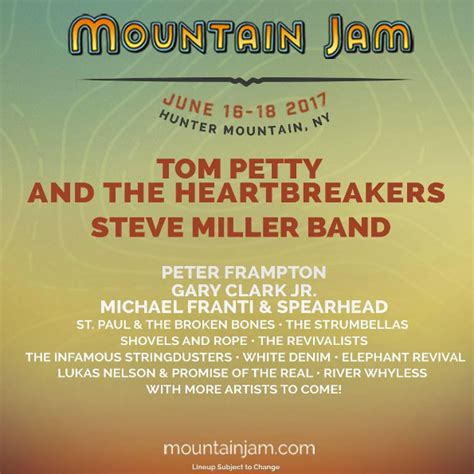 Mountain Jam 2017 with Tom Petty and the Heartbreakers