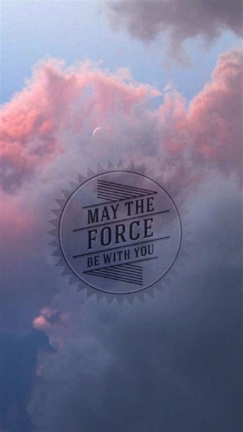 May the force be with you | スター・ウォーズのiPhone壁紙 | スマホ壁紙