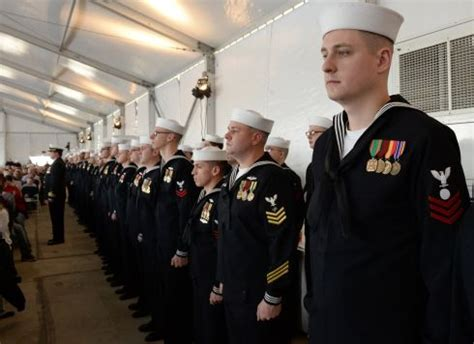 Gold for all: Navy ending use of red 'misconduct' uniform