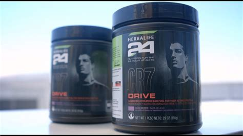 Product Spotlight - CR7 Drive by Herbalife24 - YouTube