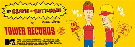BEAVIS & BUTT-HEAD ×TOWER RECORDS - TOWER RECORDS ONLINE