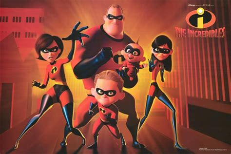 Incredibles movie posters at movie poster warehouse
