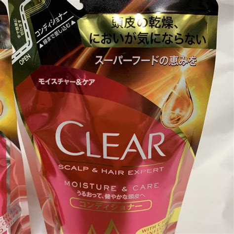 clear - CLEAR クリア モイスチャー&ケア シャンプー
