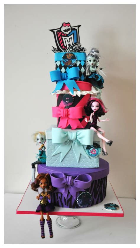 Monster High Birthday Cake - CakeCentral