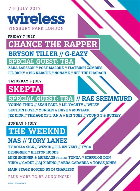 The Weeknd, Skepta, Chance The Rapper to Headline 2017